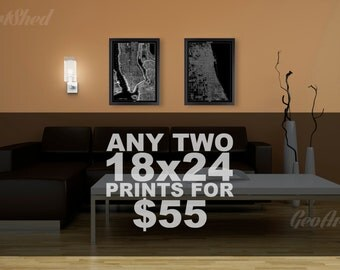 Print Posters, Custom Order for Any Two Prints