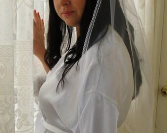 Bridal veil, Lace veil, traditional veil. First communion veil
