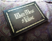 """Once Upon A Time Henry's Leather Book Cover for iPads or other 8.9""""-10.1"""" tablets"""