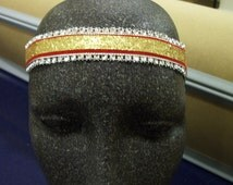 San Francisco 49ers  NFL inspired  headbands
