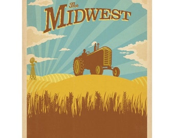 Midwest Farming Breadbasket Wall Decal #48320