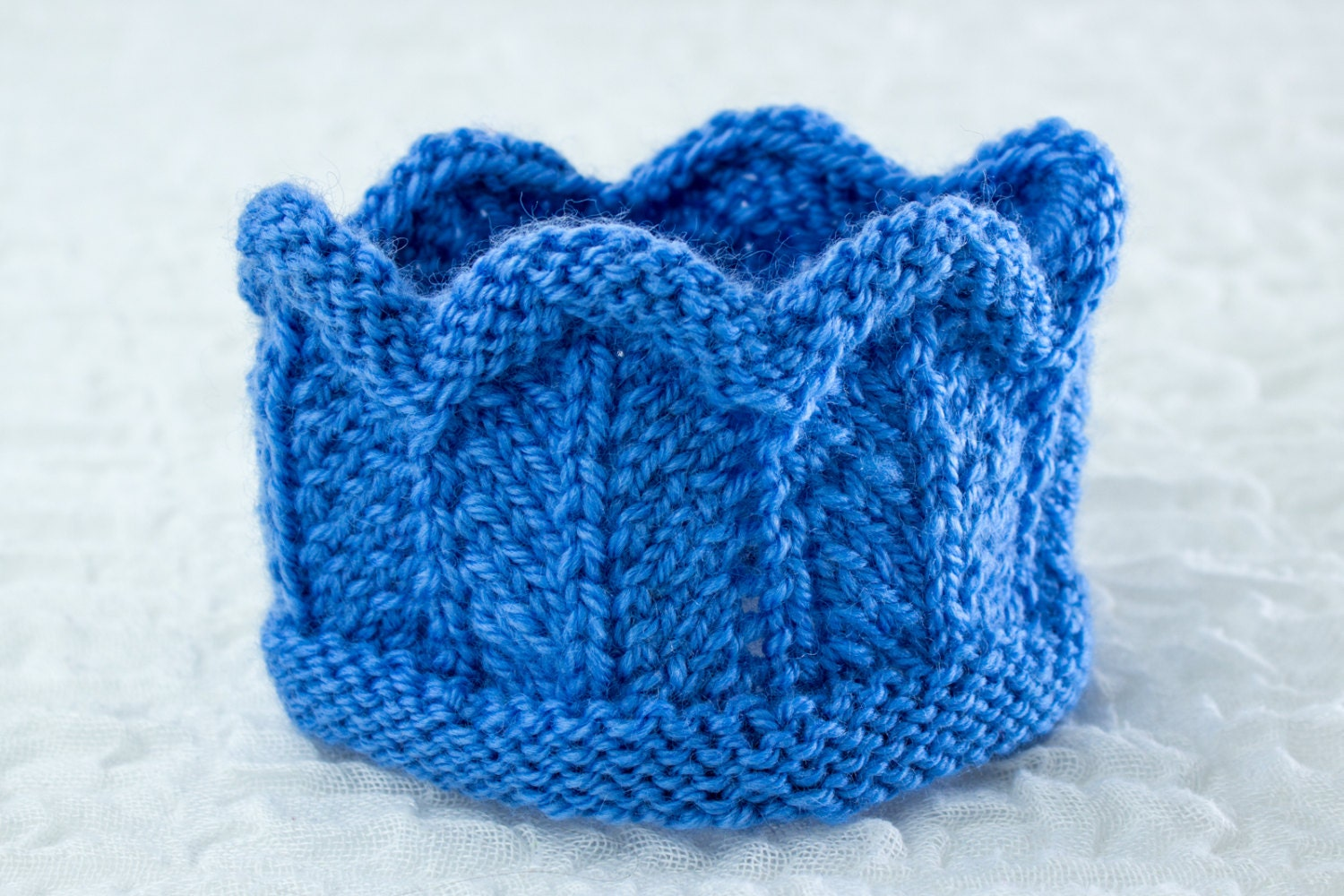 Knitting Pattern Knitted Baby Crown Headband In By