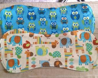 3 Homemade Baby Burp Cloths