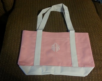 Embroidered Personalized Tote Bags