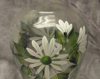 White Daisy Vase