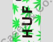 Huf Plantlife iPhone 5 Case White & Green