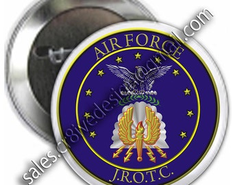AFJROTC  2.25 inch  button
