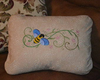 12 x 16 embroidered throw pillow cover