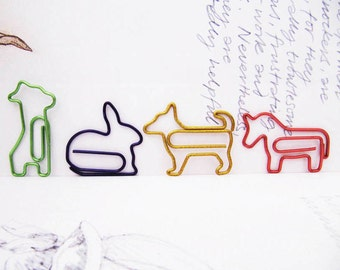 Creatures We Love : Paper Clips Set