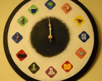 Origami Clock: Zodiac & More...