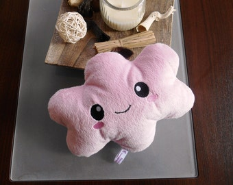Cloud plush cuddly soft plushie kawaii pink
