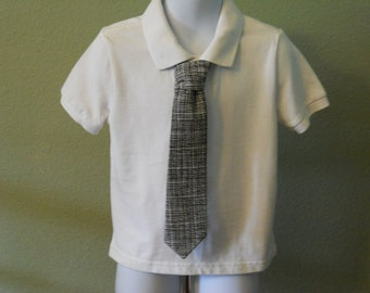 Black Children's Tie
