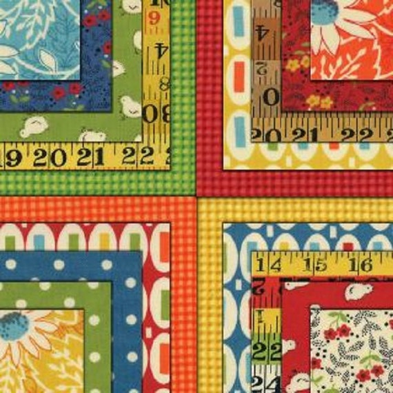 "Pot Luck Layer Cake by American Jane Moda 42-10"" Fabric Squares 21640LC"