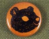 Bear Spirit Animal Button
