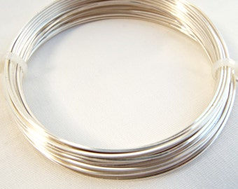 Square Wire, Silver Plated Wire, 20 Gauge Wire, 6 Metres Copper Wire, Wire Wrapping, Craft Wire, Jewelry Supplies, Wire Coil
