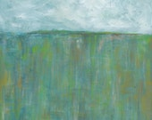 Blue Horizon, 13x19 Signe...