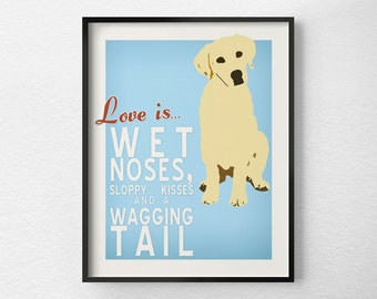 Dog Print, Dog Art, Dog Decor, Pet Art, Typography Poster, Inspirational Print, Dog Poster, Pet Poster, Dog Gift, 0279