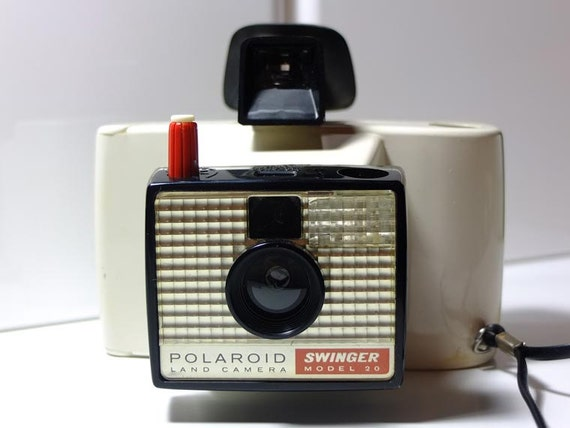 "Polaroid Land Model 20 ""Swinger""  - Vintage camera - instant camera - colorpack - polaroid 80"