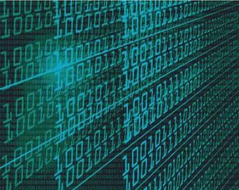 Binary Code PDF Cross Stitch Pattern