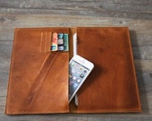 Handclutch ipad mini case ipad sleeve - unique design ipad sleeve covers for ipad mini - Best cow leather Made BM014
