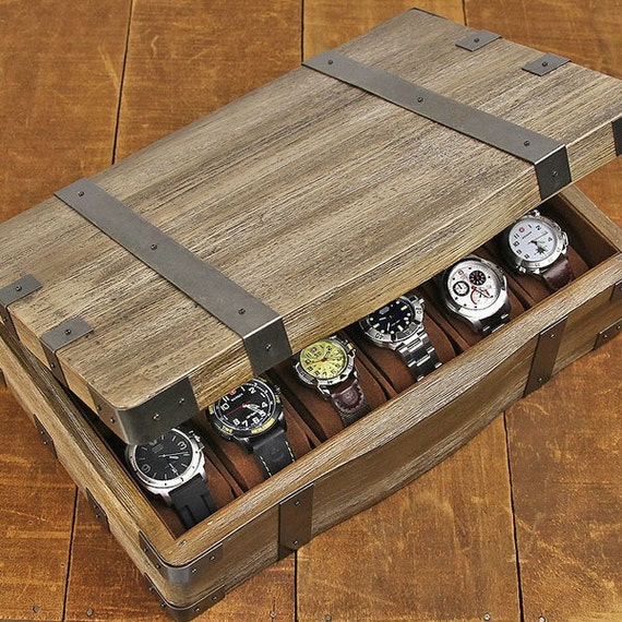 Unavailable listing on etsy for Watches box