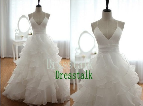 Organza Ball Gown Wedding Dress