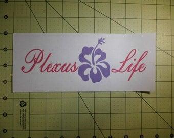 "Plexus Slim  ""Plexus Life Decal"""