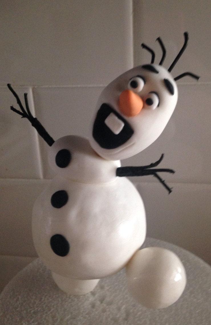 Cake Decoration Olaf : Frozen olaf cake topper