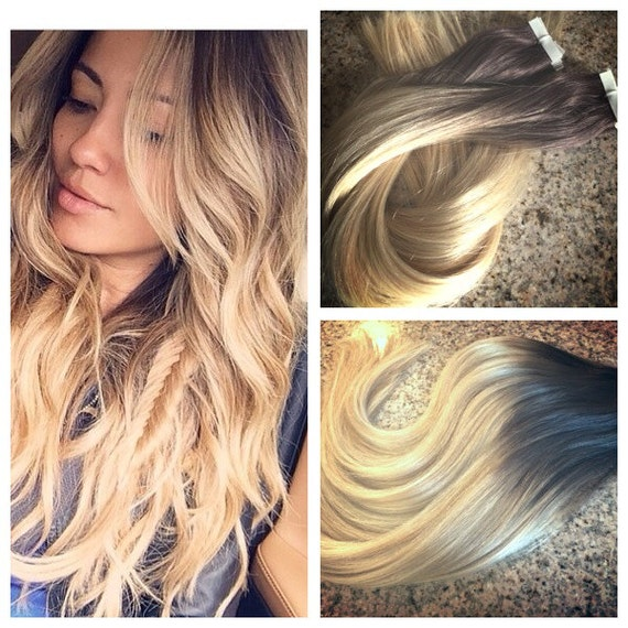 5 star ombre balayage cuticle remy human hair keratin fusion like this item pmusecretfo Images