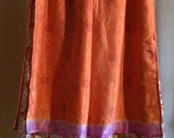 silk wide legged pants