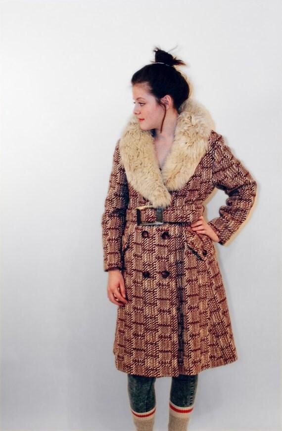 manteau vintage retro femme large boho par espritvintage. Black Bedroom Furniture Sets. Home Design Ideas