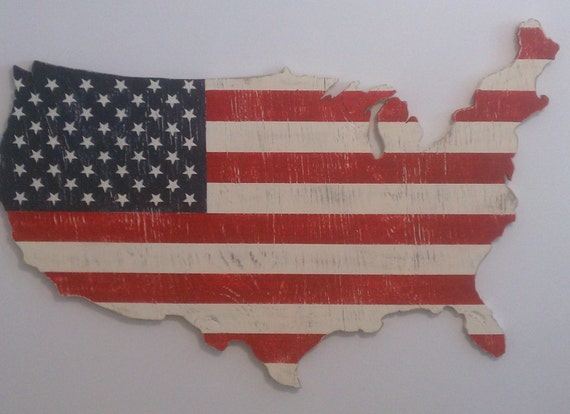 Items similar to beautiful wooden american flag wall art American flag wood wall art