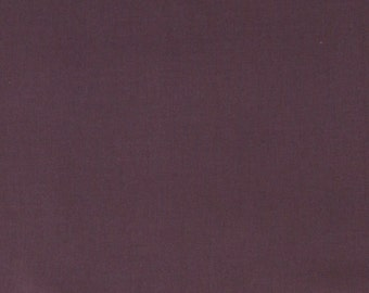 Per Yard, Dusty Purple Cotton Solid Fabric Collection (16)