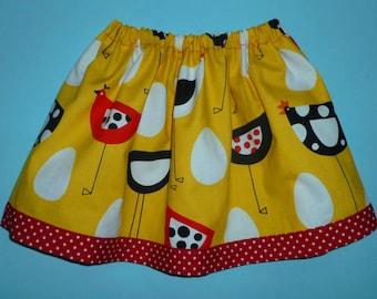 Chicken skirt for girls 10-18mths