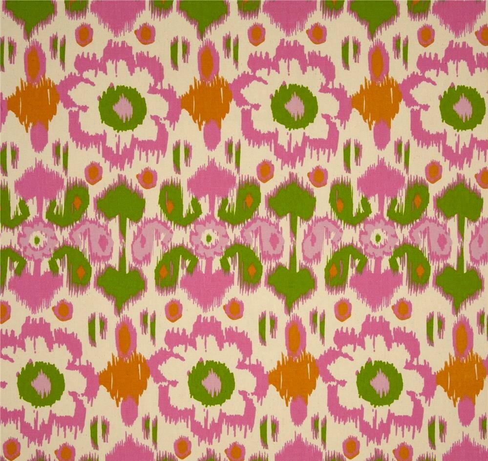 1 5 Yards Premier Prints Rio Gumdrop Natural Pink Fabric