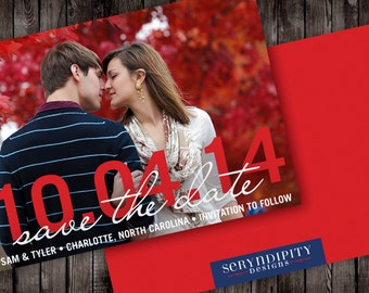 Big Day Digital Save the Date Cards