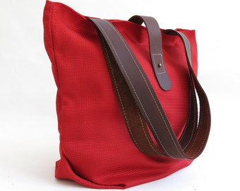 Red Bag - Red Tote - Red Taschen - Ferrari Red Tote - Red Handbag