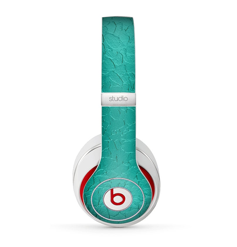 The Teal Stamped Texture Skin for the Beats by Dre by ...
