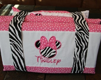 Custom And Personalized Toddler Nap Mat Cover With Straps