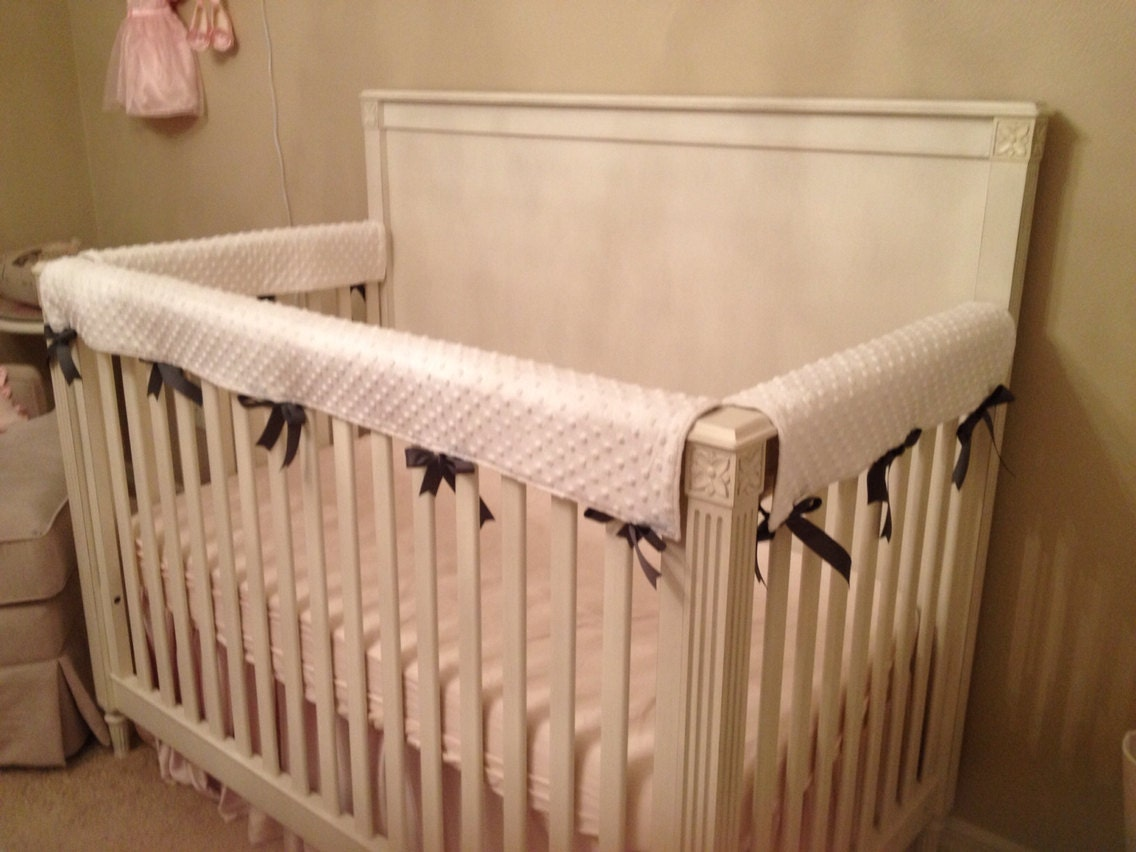 Crib Rail Cover/ Set of 3 Create Your Own