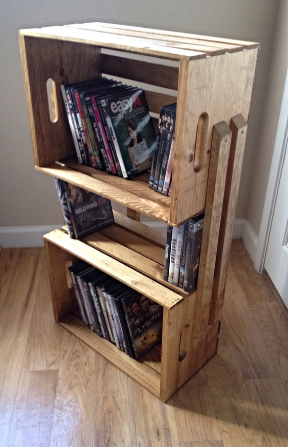 wooden crates as shelves etsy your place to buy and sell all things handmade vintage and supplies 3622