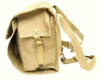 Original Vintage 50's-60's Italian Army Backpack