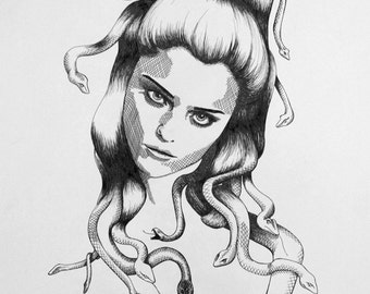 ORIGINAL ARTWORK - MEDUSA #6
