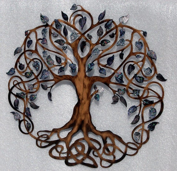 tree of life infinity tree wall decor wall by. Black Bedroom Furniture Sets. Home Design Ideas