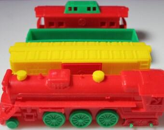 Vintage Plastic Toy Train Premium