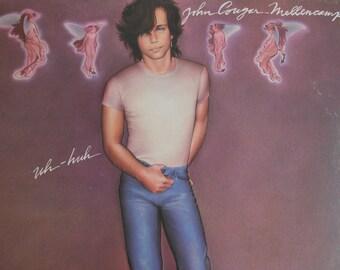 John Cougar Mellencamp - Uh-Huh - vinyl record