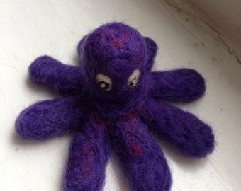 Needle Felt octopus
