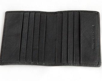 Quality Slimline Leather JtC Branded Credit Card / Buisness Card Holder