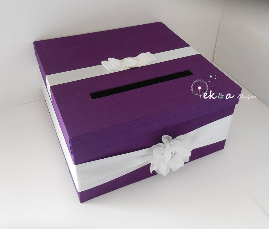 Wedding Gift Box Etsy : Wedding Gift Card Box / Wedding card box / wedding money box /