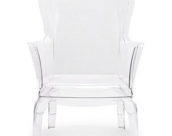 Ghost Wingback Chair